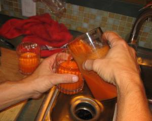 Carrot juice!