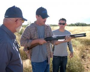 Our first gun