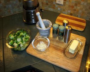 Fixins for the sprouts