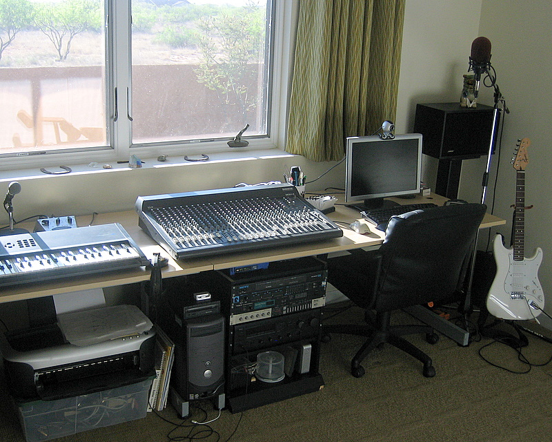 The old studio