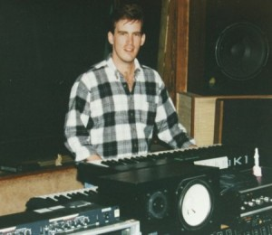 Me in the studio 1994