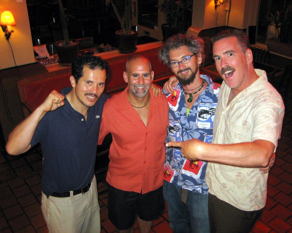 John, Chuck, Russ and me